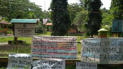 Minta Kades Transparan Kelola Dana Desa, Masyarakat Desa Batupute Bergerak