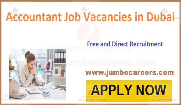 Current Accountant jobs in Dubai with Salary,