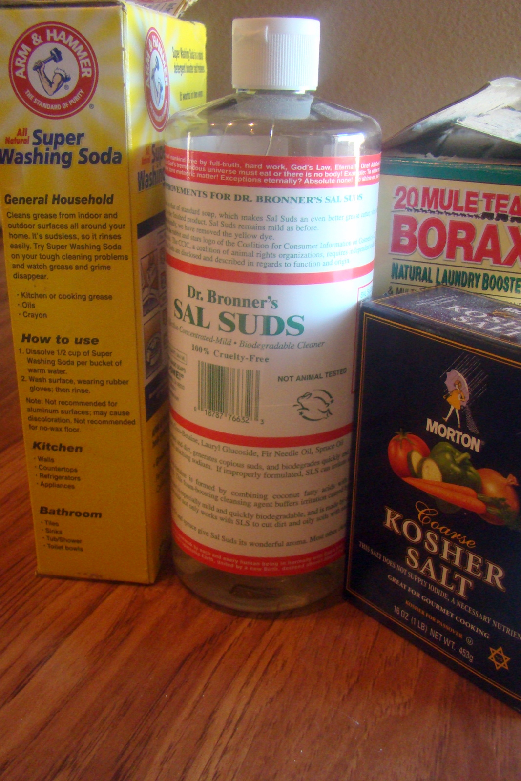 Nourished And Nurtured Homemade Scrubby Bathroom Cleaner
