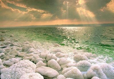 اختفاء البحر الميت