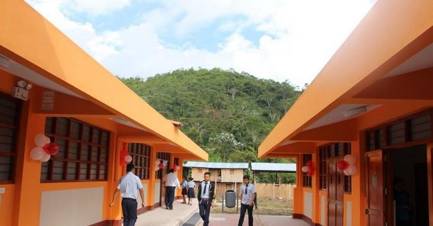 10 mil estudiantes son beneficiados con más de 100 nuevos locales Escolares en San Martín - www.dresanmartin.gob.pe