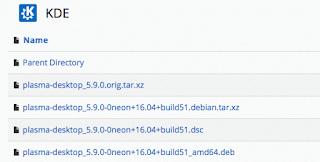 Plasma 5,9 Update Sekarang Tersedia di KDE Neon
