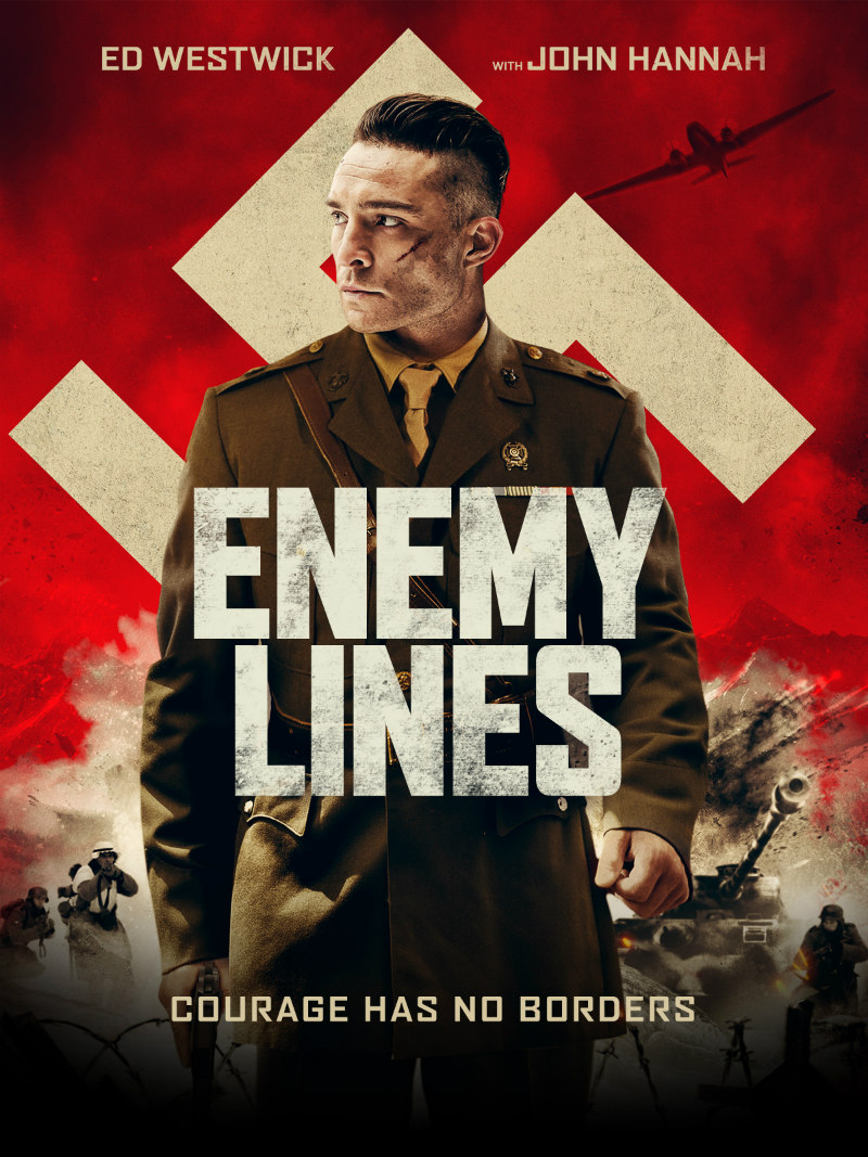enemy lines movie poster