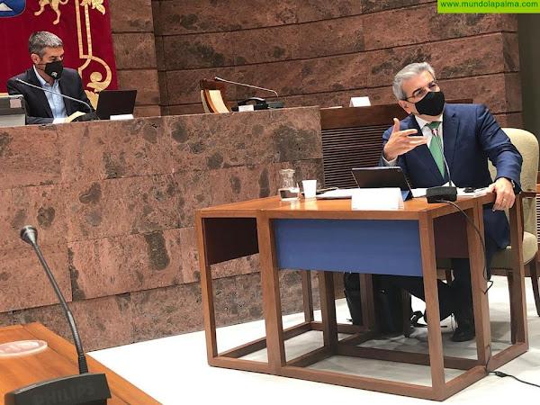 Rodríguez garantiza que los Presupuestos responderán a las necesidades de Canarias sin hipotecar su futuro