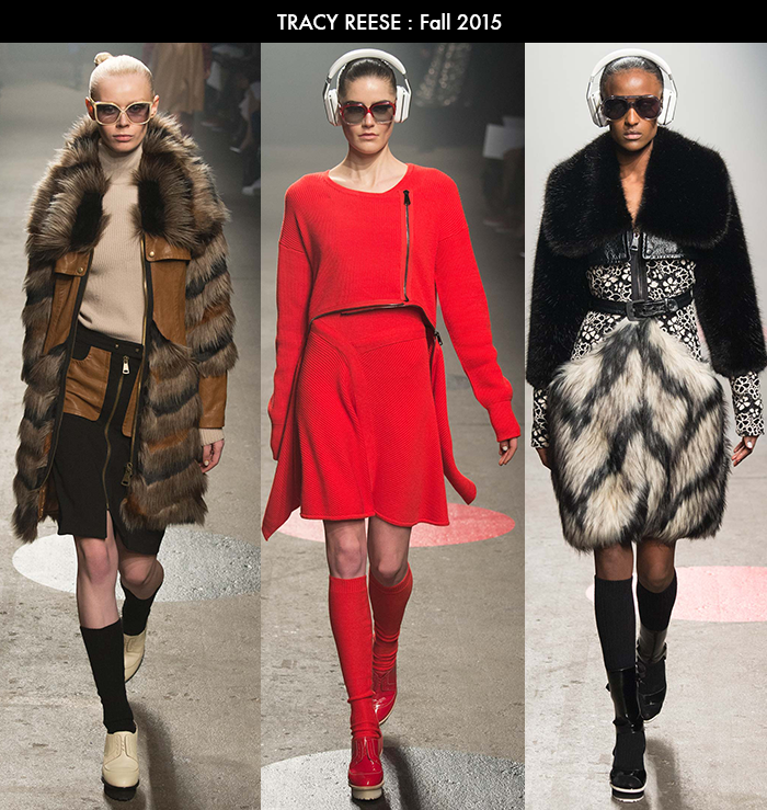 Tracy Reese, NYFW, Fall 2015