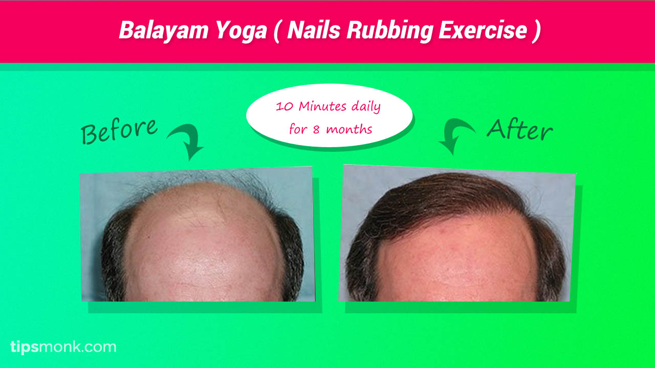 Balayam Yoga - Nails rubbing exercise success results, reviews, before & after - Tipsmonk