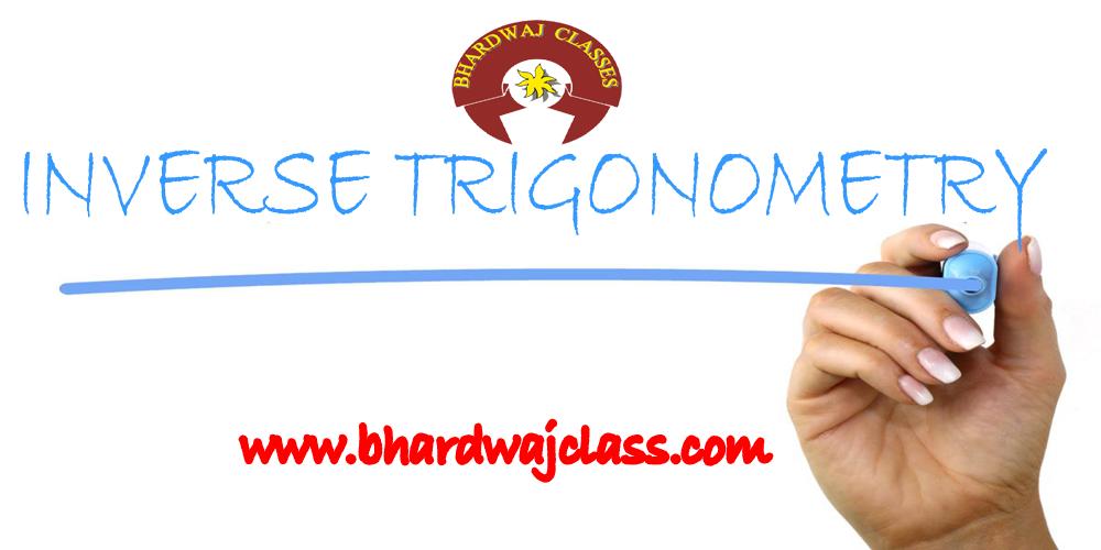 inverse trigonometry