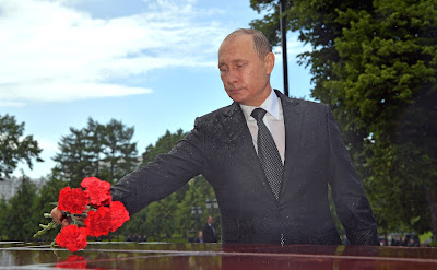 The President of the Russian Federation Vladimir Putin.