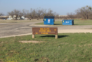 Wildlife viewing area at Brantley Lake State Park in Carlsbad, NM