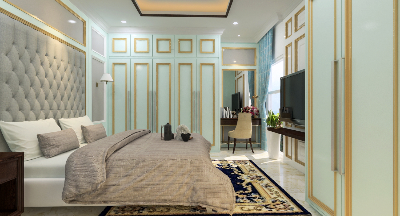 Master Bedroom Victorian Calm Interior Design