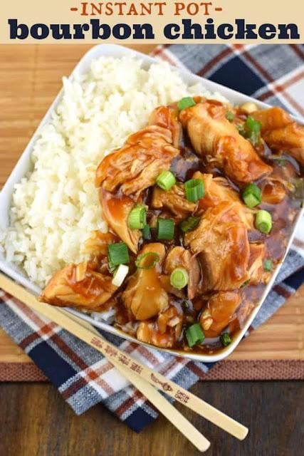 Instant Pot Bourbon Chicken