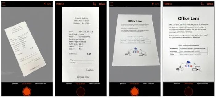 Best Scanner Apps on Android Office Lens