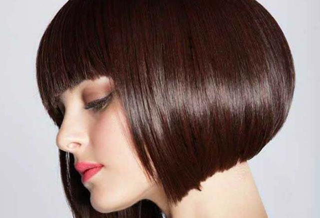 Model rambut wanita pendek Bob Poni