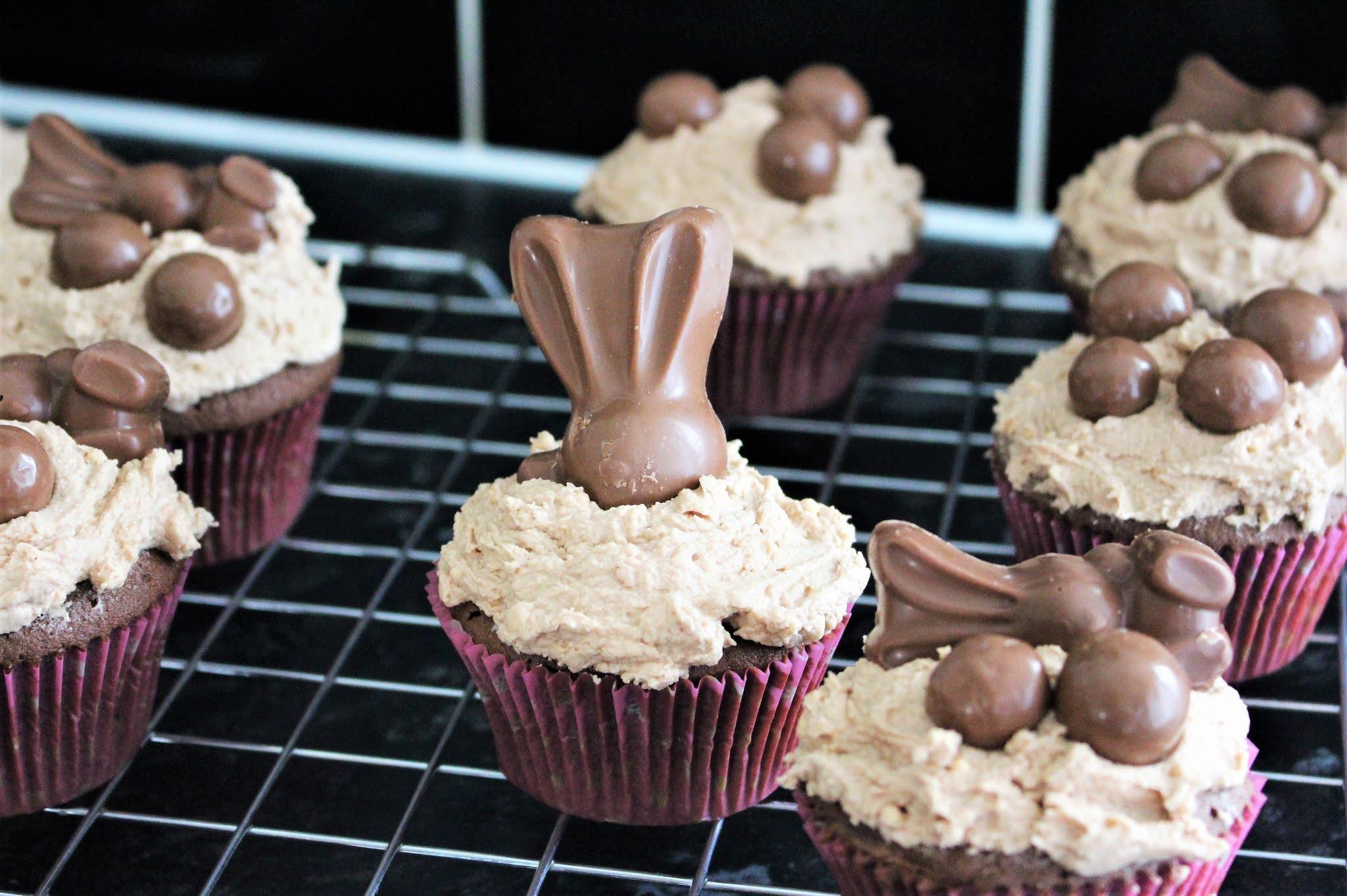 malteaser easter cupcakes
