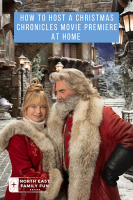 How to host a Christmas Chronicles Movie Premiere at Home