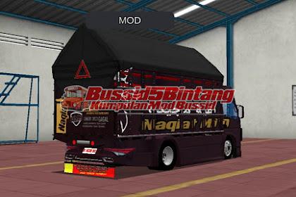 Mod Bissid Truck terpal Segitiga Hitam