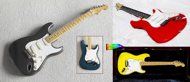 Late 1980s Fender USA Strats