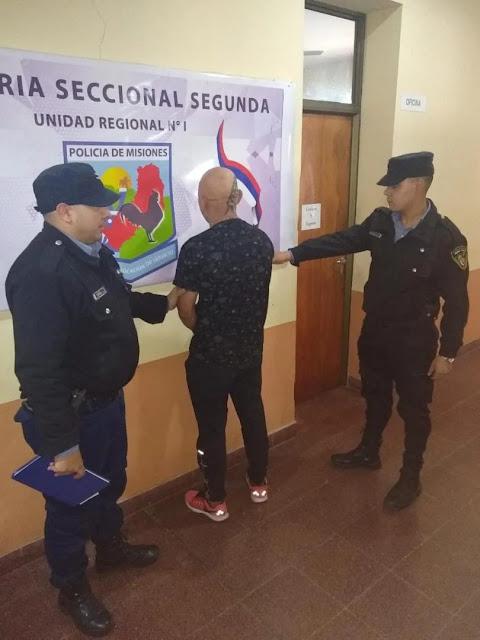 Ex boxeador - Koyak Ríos y quedó detenido en la comisaría segunda de Posadas