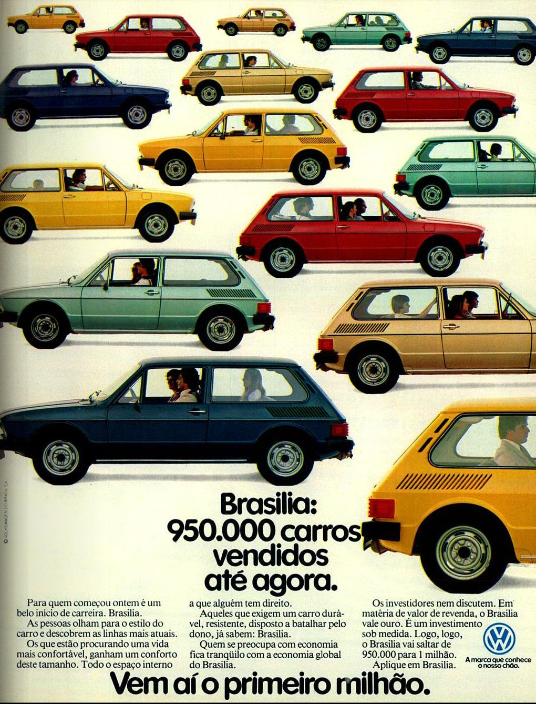 Prestes a completar 1 milhão de automóveis vendidos, a Volkswagens fez um anúncio comemorativo