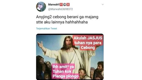 Lagi, Gambar Yesus Berwajah Jokowi Beredar: Akulah Jasjus Tuhannya Para Cebong