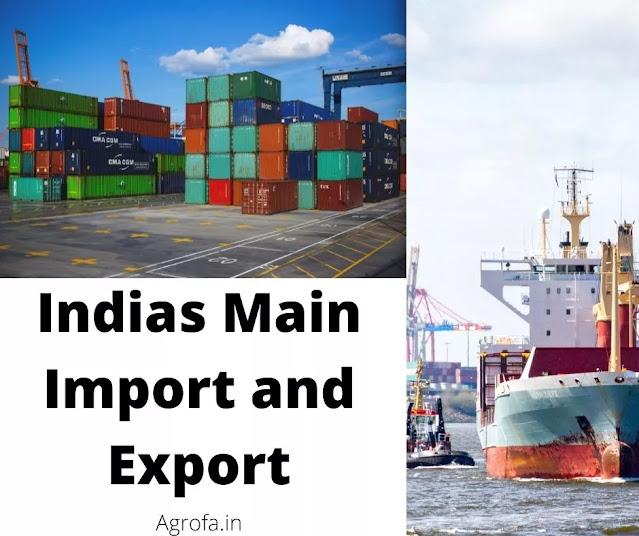 India's Main Exports and Imports