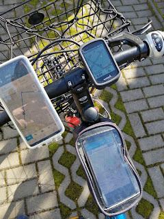 Fahrradcomputer oder Smartphone