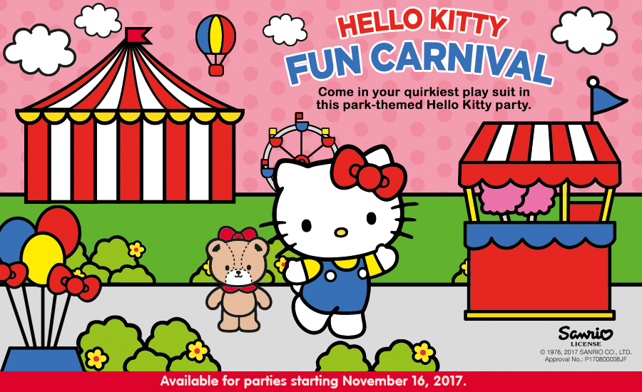 The Pinoy Informer New Jollibee Party Theme Hello Kitty Fun Carnival