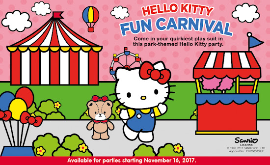 Jollibee Party Theme - Hello Kitty Fun Carnival