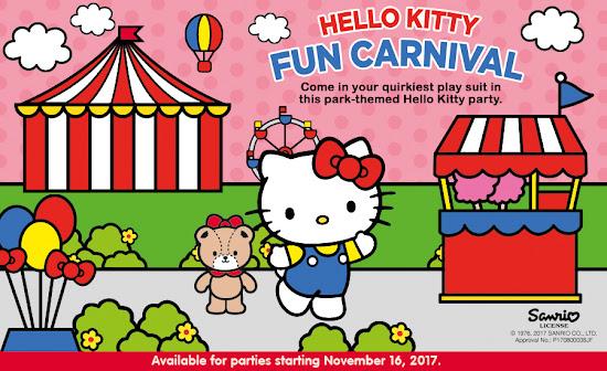 Jollibee Party Theme - Hello Kitty Fun Carnival