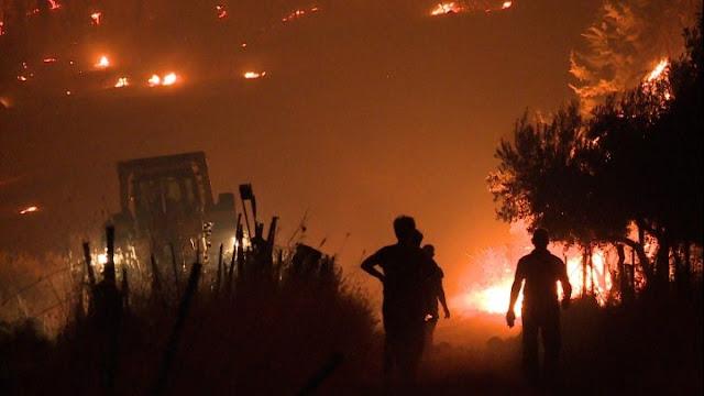154 πυρκαγιές σε όλη τη χώρα - Τρεις συλλήψεις για εμπρησμούς