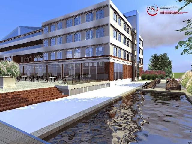 otoczenie hotelu - projektowanie i realizacja