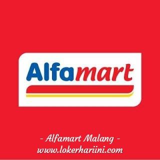 Lowongan Crew Store Kasir Pramuniaga Alfamart Malang 2021
