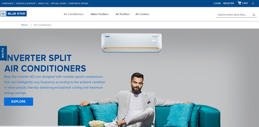 Blue Star Air Conditioner