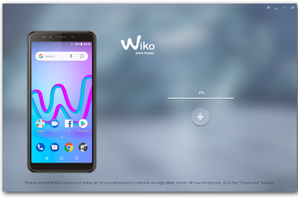 Cara flash Wiko Jerry 3 tested done