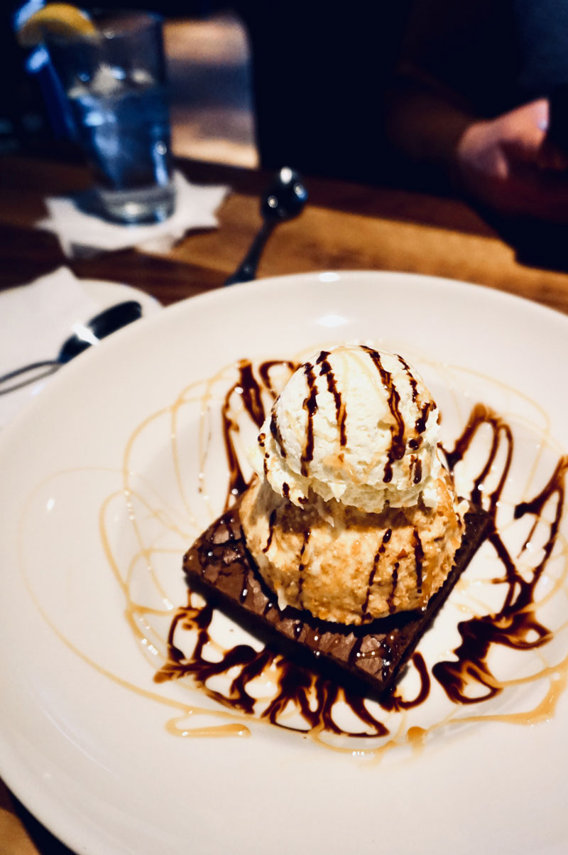 Fried Ice Cream from Hollie's