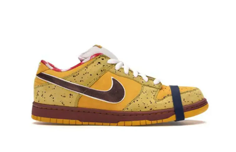 "Nike Dunk SB Low ""Yellow Lobster"" 2009"