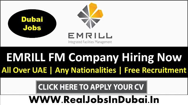Emrill Integrated Facilities Management jobs In Dubai