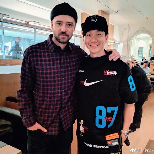 JJ Lin Justin Timberlake