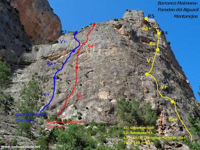 Pared del Alguacil, Montanejos
