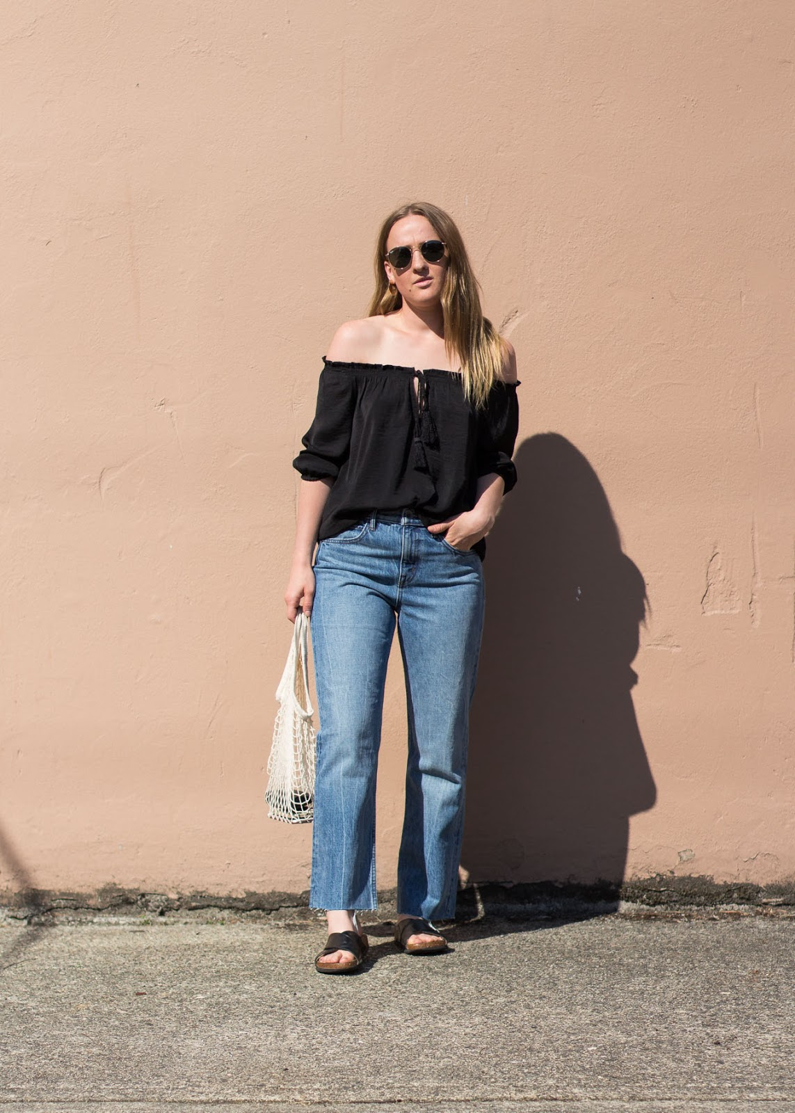 Summer style - best way to wear boyfriend jeans - Vancouver Fashion Blogger