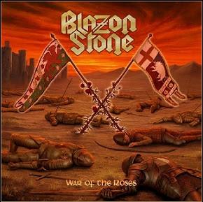 """Ακούστε τον δίσκο των Blazon Stone """"War of the Roses"""""""