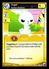 My Little Pony Angel, Serious Business Canterlot Nights CCG Card
