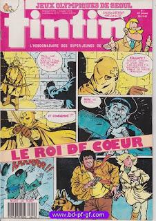 la vente de fascicule Tintin, consultez-nous!!