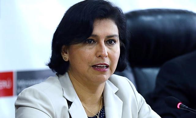 Ministra Sylvia Cáceres