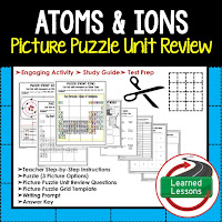 EARTH SCIENCE Test Prep, EARTH SCIENCE Test Review, EARTH SCIENCE Study Guide, Atoms and Ions