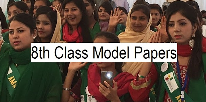 8th Class Model Papers 2018 Download by PEC - All Subjects | www.pec.edu.pk