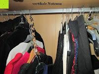 vertikale Nutzung: IPOW- 8 Set platzsparende Kleiderbügelhalter Schrankbügel Kleiderbügel kleiderstange Mehrfachkleiderbügelhalter