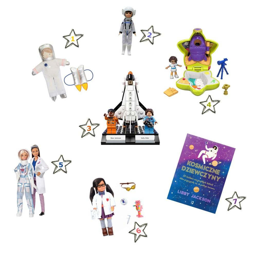 kosmiczne prezenty dla dziewczynki ☄️