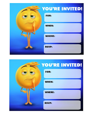 emoji movie party