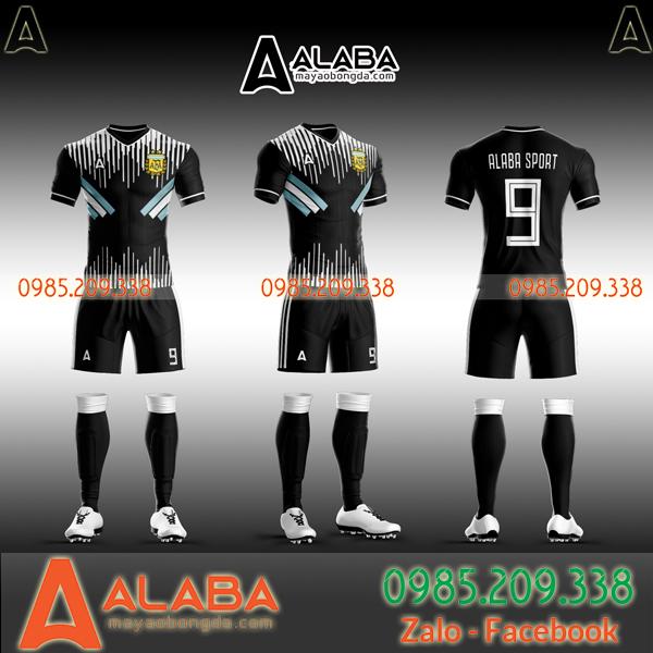 Áo Argentina đen